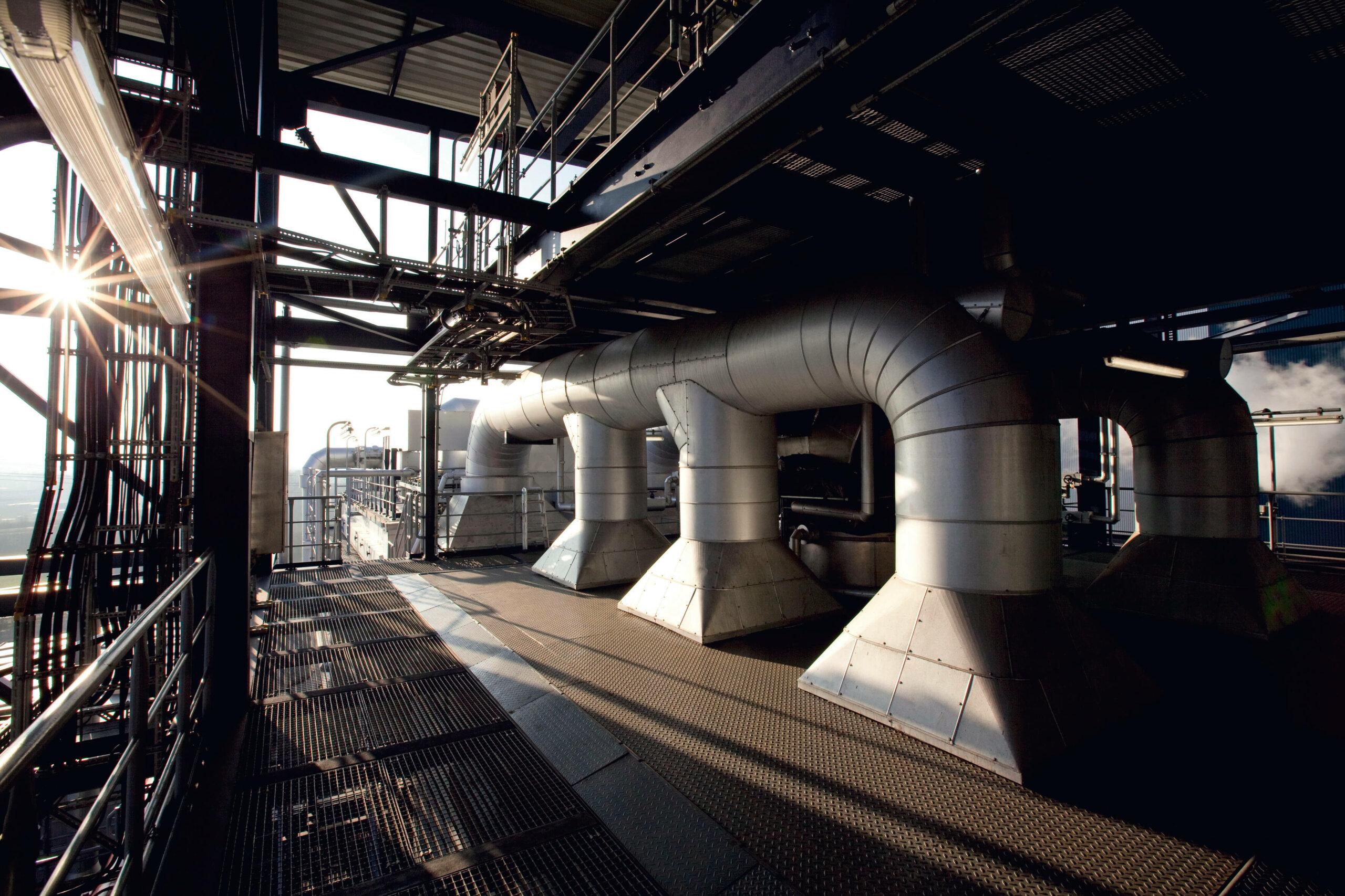 Innovationszentrum Kohle Innenaufnahme Kraftwerk Niederaußem