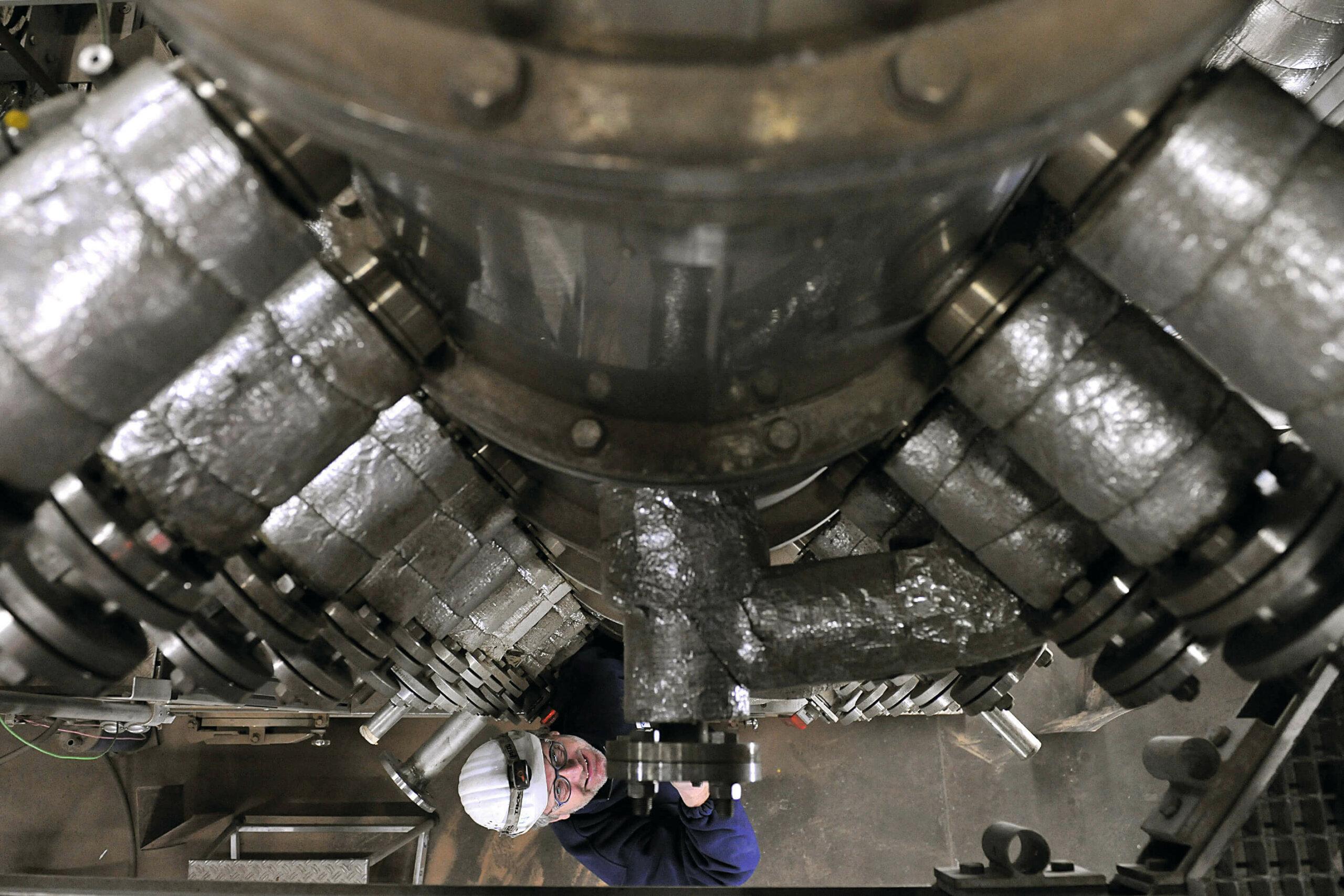 Innovationszentrum Kohle Niederaußem Arbeiter und Technik Modul