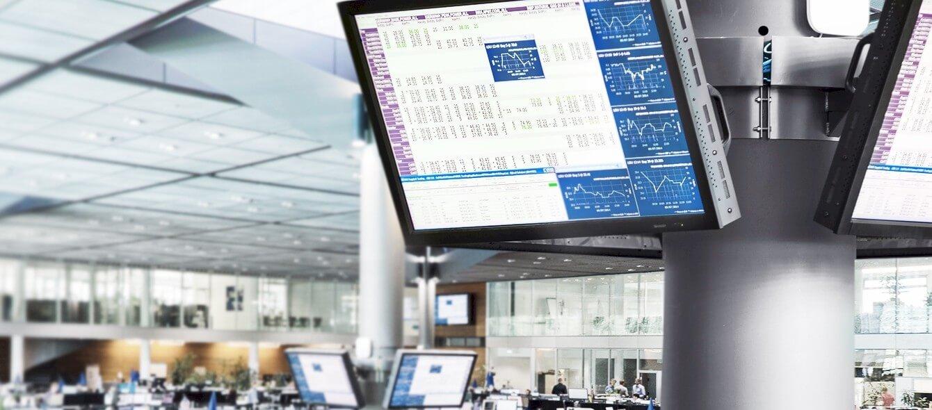 enformer Energiehandel Anzeigetafel