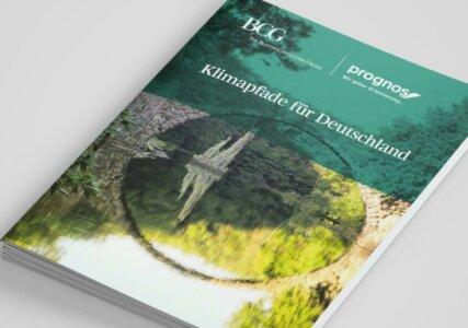 Deckblatt zur BDI Studie Klimapfade für Deutschland