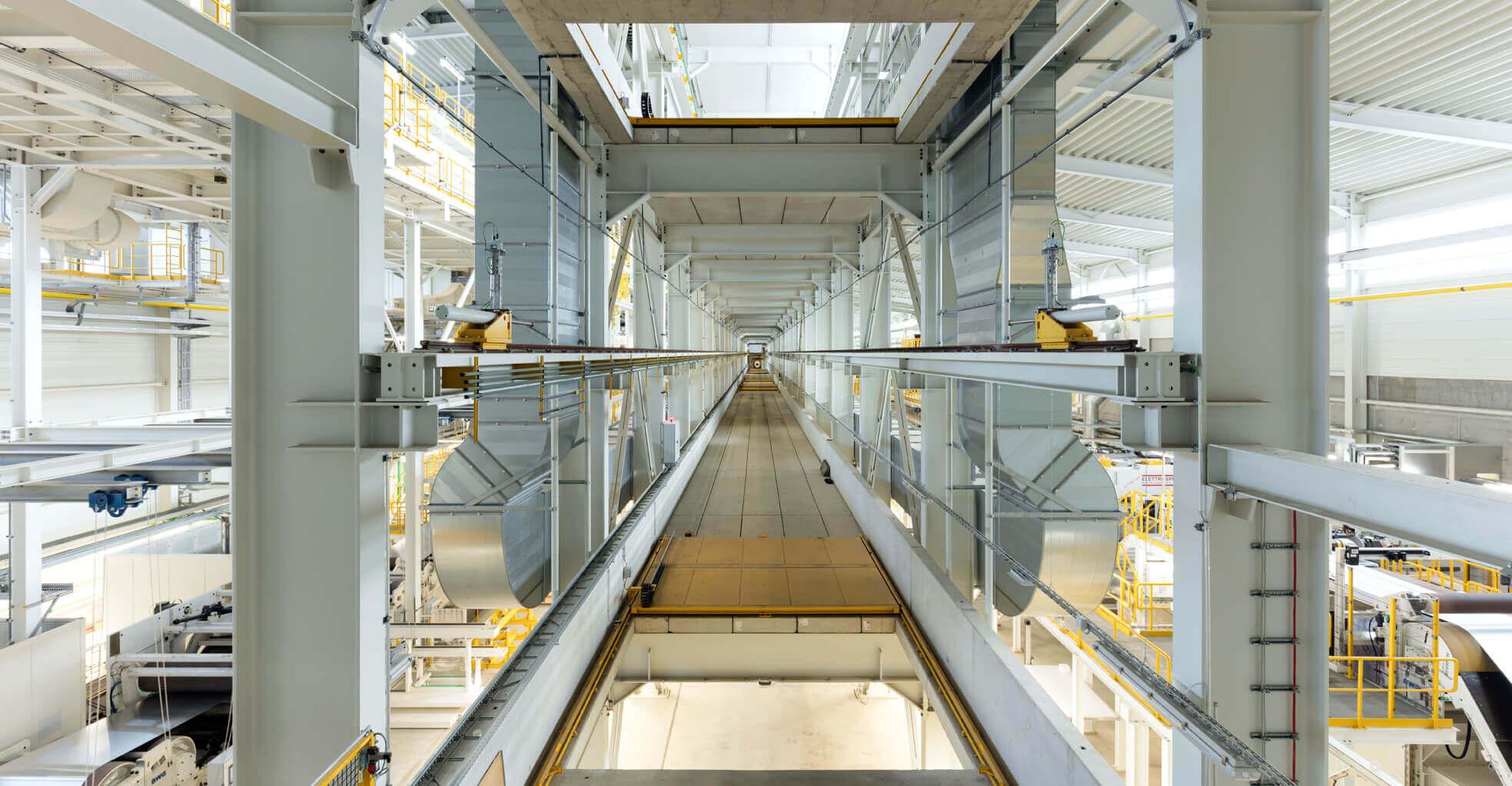 enformer Stromerzeugung Innenaufnahme Aluminiumwerk Grevenbroich
