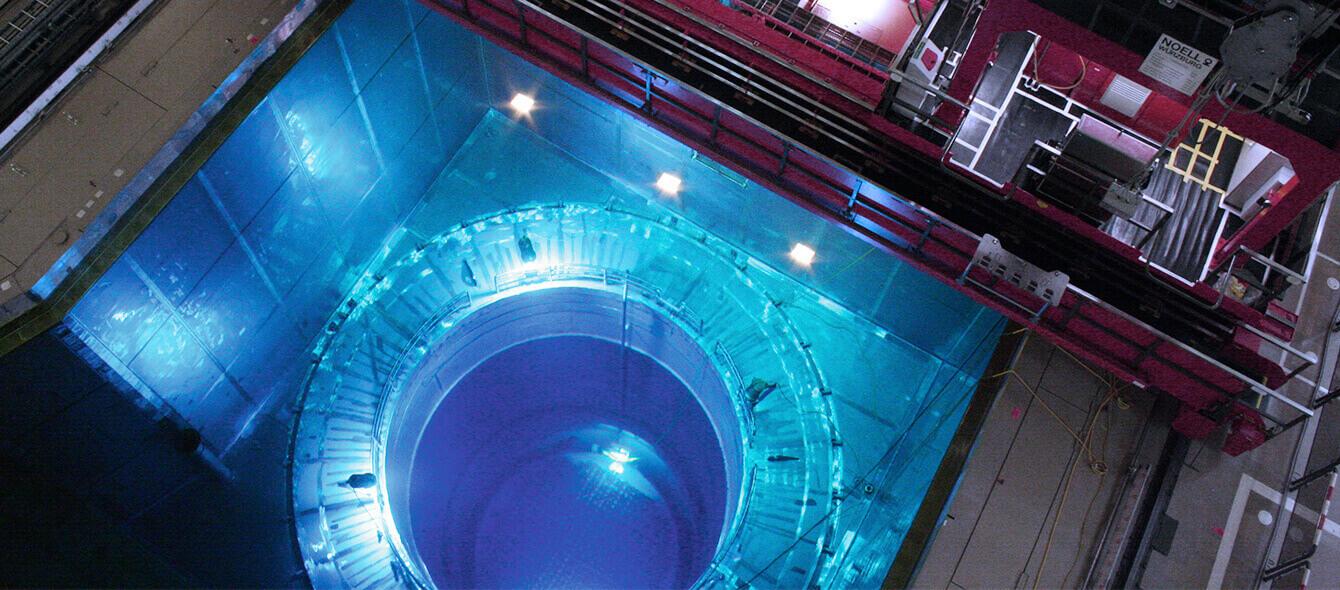 enformer Versorgungssicherheit Abklingbecken des Kernkraftwerks Gundremmingen