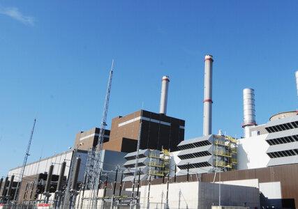 enformer Energiewende Bild des Gas- und Dampfturbinen-Kraftwerks Claus