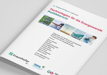 Deckblatt zum Politikbericht Technologien für die Energiewende