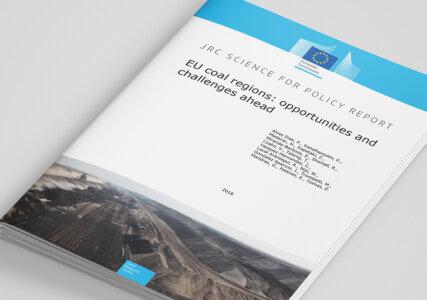 Cover zur EU Studie Studie EU coal regions opportunities and challenges ahead