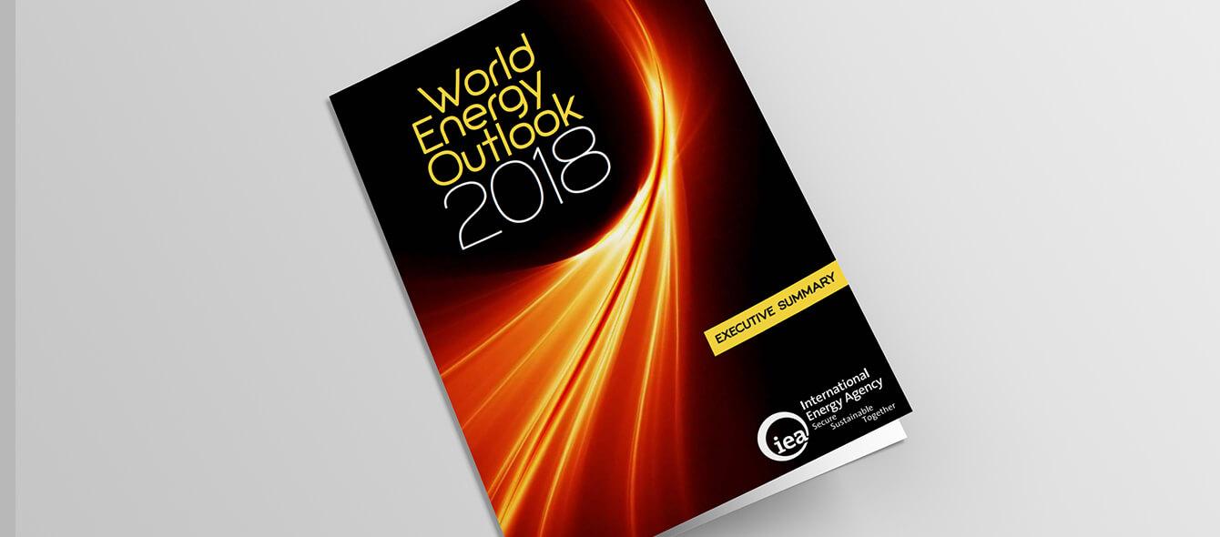 Energiewirtschaft im enformer Deckblatt zum World Energy Outlook 2018