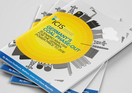 Deckblatt ICIS Studie zum deutschen Kohleausstieg