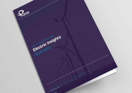 Drax Electric Insights Deckblatt Quartalsbericht zum britischen Strommarkt