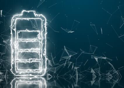 Darstellung einer Batterie