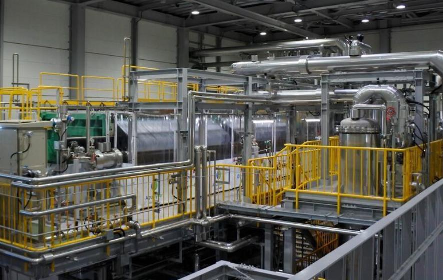 Der größte Alkali-Wasserelektrolyseur der Welt in Japan