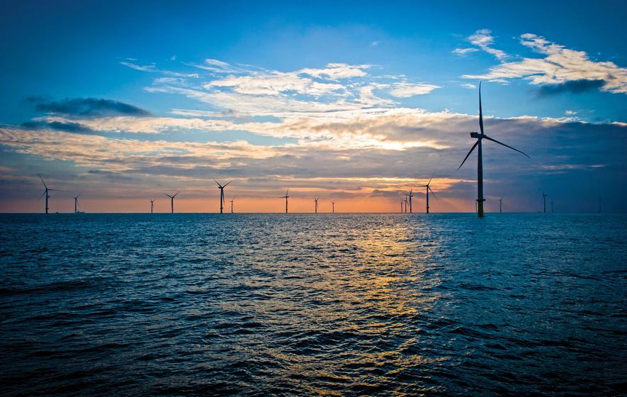 Größter Offshore-Windpark in der Irischen See