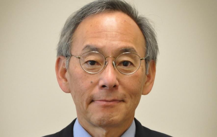 Prof. Steven Chu von der Stanford University